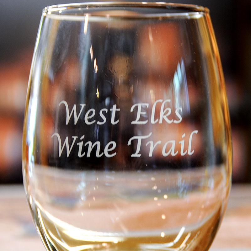 West Elks Wine Trail glass image