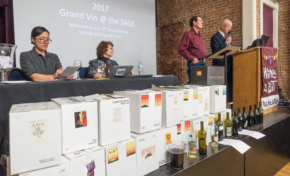 Grand Vin Tasting and Wine Auction – Nov 11