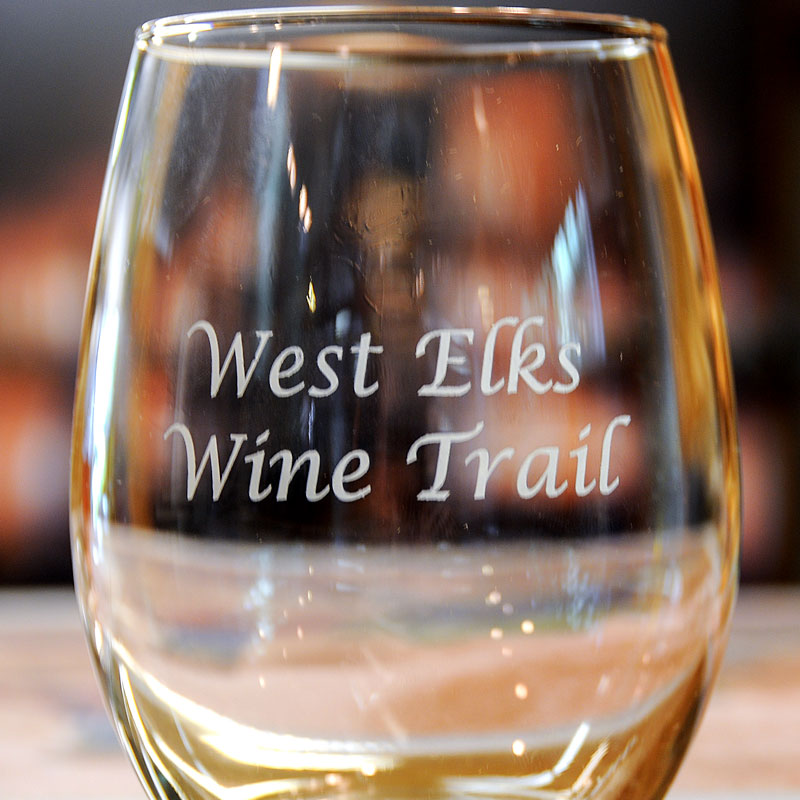 West Elks Wine Trail glass image