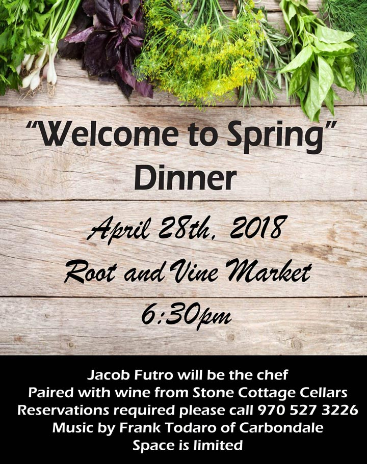 Welcome to Spring Dinner image