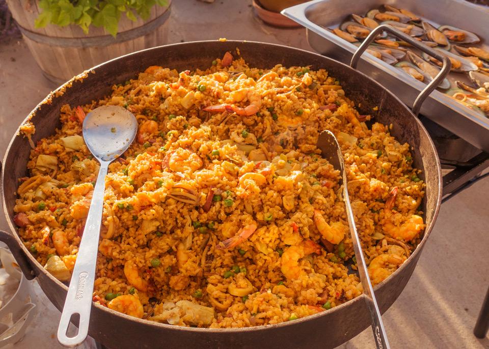 Leroux Creek Paella Dinner image