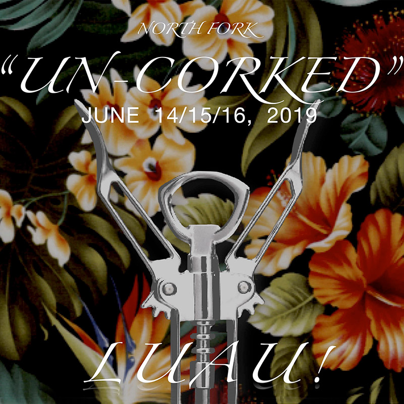 North Fork Uncorked Luau theme image