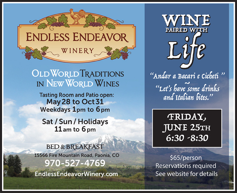 Endless Endeavor - Wine Paired with Life